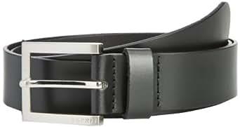 Esprit Men's Olaf Belt, Black, 34 cm (Manufacturer Size:95 cm)