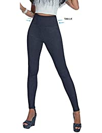 Firstclass Trendstore Shape-Leggings Gr. S-XXL * Jeans-Optik formend modellierend schlankmachend Leggins Damenhose