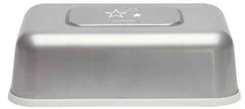 bébé-jou 623037 Feuchttücherbox Silver Stars