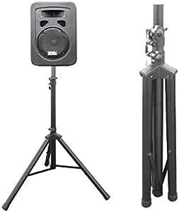 Drall Instruments 1 Stück Lautsprecher Stativ Boxen Ständer Für Pa Disco Live Event Proberaum Gesangsanlage Stage