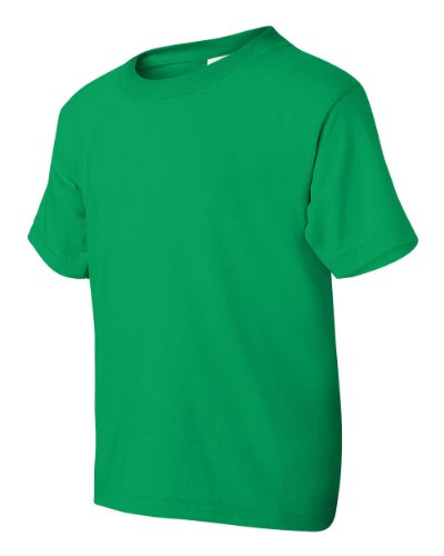 Jesus Shaves auf American Apparel Fine Jersey Shirt Grün - Irish Green