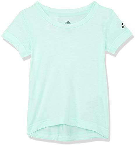 adidas Mädchen Prime Kurzarm T-Shirt Clear Mint 170
