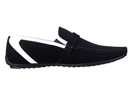 Goor - Chaussure Derbie Fgd17 Mocassin 12 Noir Noir