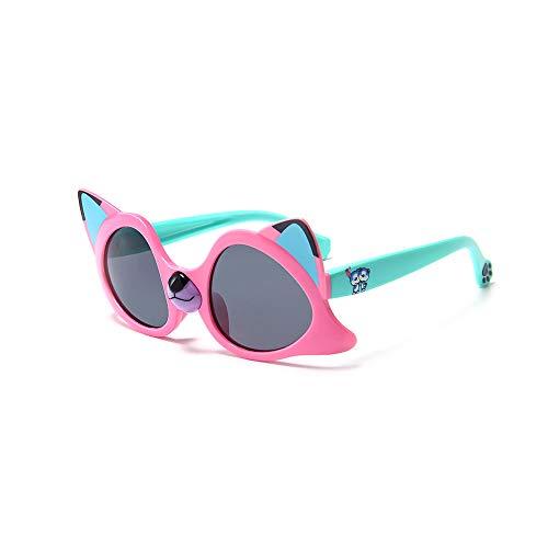 DIYOO Kinder Kinder polarisierte Sonnenbrille silikon Flexible Shades Nette Coole Fox Sonnenbrille für mädchen Jungen # 5
