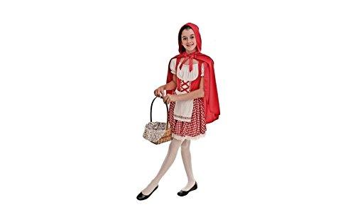Topwell cappuccetto rosso costume bambina m, multicolore, 8-10 years 373904