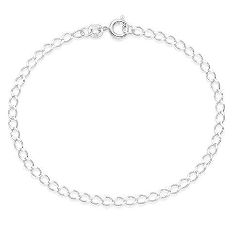Oval link chain bracelet 180mm (7