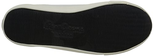 Pepe Jeans Britt Action, Baskets Basses Homme Blanc (800White)