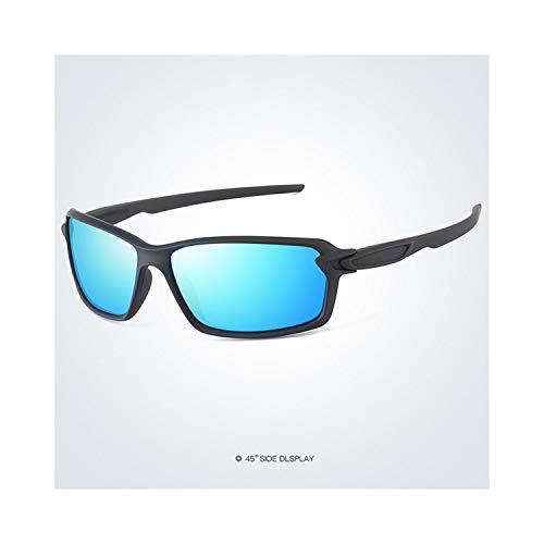 Sport-Sonnenbrillen, Vintage Sonnenbrillen, Polarisiert Sunglasses Men Driving Glasses Fashion Sun Glasses For Woman Male Sport Glassegoggles Eyewear Brand Designer Oculos S18318 Balck Blue