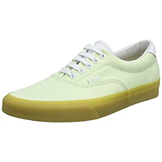 Vans Unisex Adults' Era 59 Trainers, Green ((Double Light Gum) Ambrosia Qk6), 9 UK 43 EU
