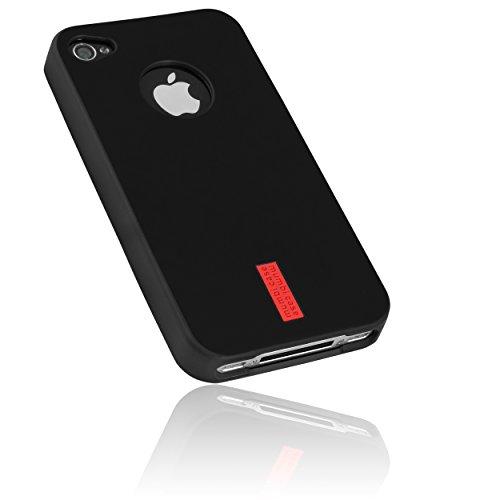 mumbi Tasche für iPhone 4 4S Silikon Hülle Schutzhülle