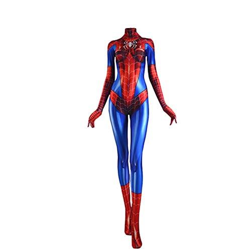 Kostüm Mary Jane - Mary Jane Cosplay Kostüm | Spider-Woman Bodysuit (M Größe)