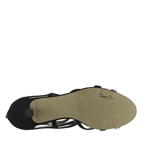Easy Street Flattery Synthetik Sandale Blk