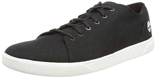 Timberland Bradstreet Fabric and Leather Sensorflex, Zapatos de Cordones Oxford para Hombre, Azul (Midnight Navy Nubuck w/Knit), 43.5 EU