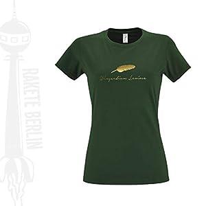 Damen T-Shirt 'Wingardium Leviosa - Feder' Baumwolle