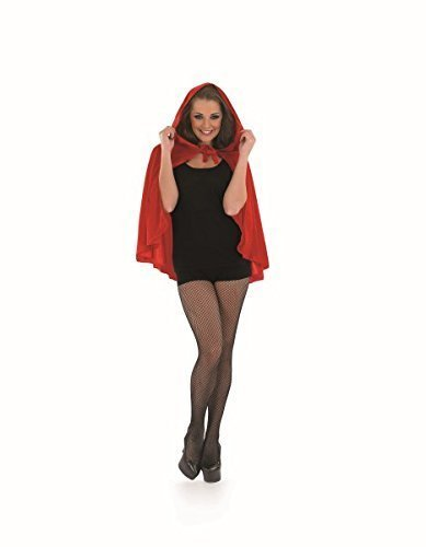 Red Riding Hood Cape Accessory Fancy Dress (Halloween Riding Kostüme Red)