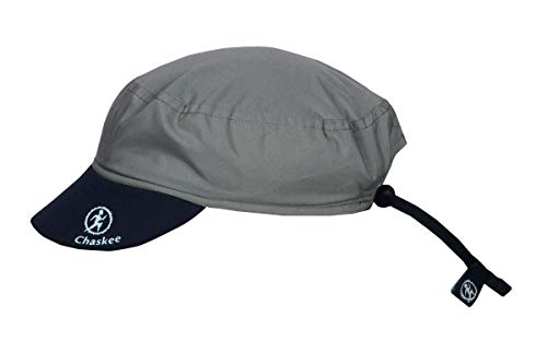 Chaskee Chaskee Reversible Cap Microfiber Plain, One Size, Dark Grey