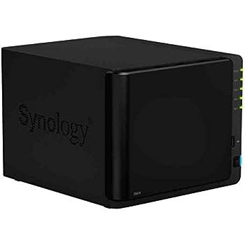 Synology DS414 DiskStation NAS Server für SMB und SOHO (4-bay)