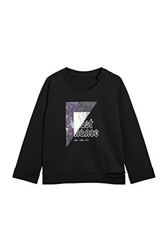 next Femme Sweat Style Punk À Imprimé Graphique Noir