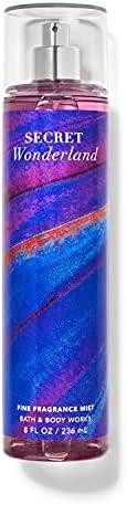 Bath and Body Works Secret Wonderland Fine Fragrance Mist Spray 236ml - A Sweet, Magical Blend of Luscious Str
