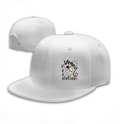 Unisex Women Cotton Adjustable Baseball Caps Low Profile Washed Dad Hats vegan Revolution Sailor Popeye vegan Revolution sail - Popeye Kostüm Für Hunde