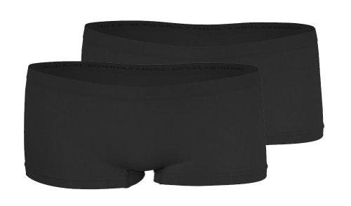 VCA 2er Pack Damen Seamless Microfaser Pantys Hipster Shorts in 7 verschiedenen Farben von Yenita