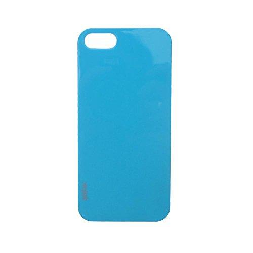 Xqisit iPlate Style Case pink Schutzhülle, Hardcase für iPhone 5 / 5S Blau