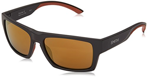 Smith Herren OUTLIER 2 0K FRE 57 Sonnenbrille, Matt Grey