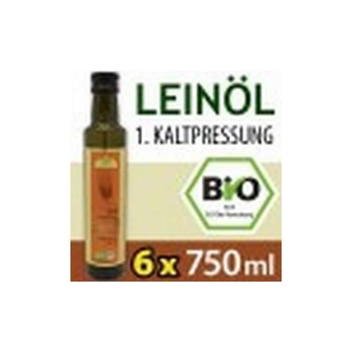 Vorteilspaket Bio Leinl Kaltgepresst 6 Flaschen 750 Ml Kba Versandkostenfrei