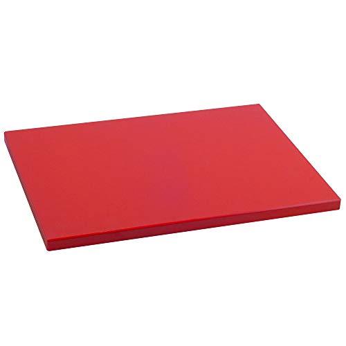 Metaltex -  Tabla de cocina, Polietileno, Rojo, 38 x 28 x 1,5 cm