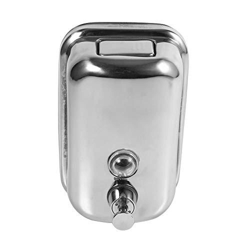 Asixx 500ml Dispensador de Jabón, Acero Inoxidable,para Usar En El Baño Y La Cocina En El Hogar,La Oficina,La Escuela,El Hospital,El Hotel Y El Restaurante