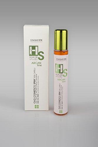 emmedi HS pour cheveux Traitement avec huile d'argan Bien-être et bêta carotène pour tous les haartypen Spray (1 x 100 ml)