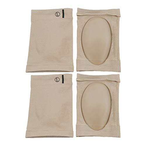 Healifty Compression Arch Support Sleeves Socke mit Comfort Gel Pad Kissen Arch Brace für flache Füße Plantar Fasciitis 2 Pairs (Arch Support Sleeve)