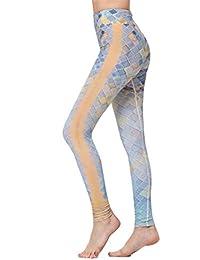 632303acf1e54c Saoye Fashion Sports Pants Women's Floral Print Stretch Slim Fit Clothes Yoga  Leggings Elastic Waist Quick