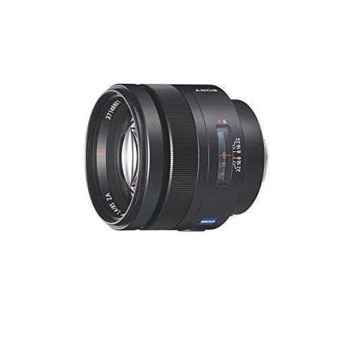 Sony SAL85F14Z Obiettivo con focale fissa PT 85 mm F1.4 ZA, Nero