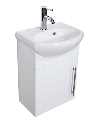 Emotion Meuble salle de bain Primus blanc brillant