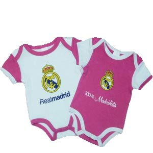 Pack 2 Body Real Madrid Niña (6 Meses)