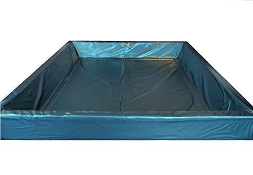 WABEZU Mesamoll2® Wasserbett Sicherheitswanne Softside Wasserbett, Auslaufschutz, Sicherheitsfolie (200 x 220 cm)