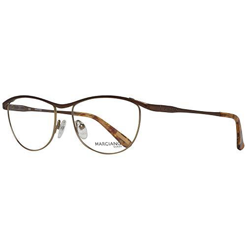 Guess Damen Frame GM 241 D96-52-16-0 Brillengestelle, Brown, 52 - Brille Frames Guess