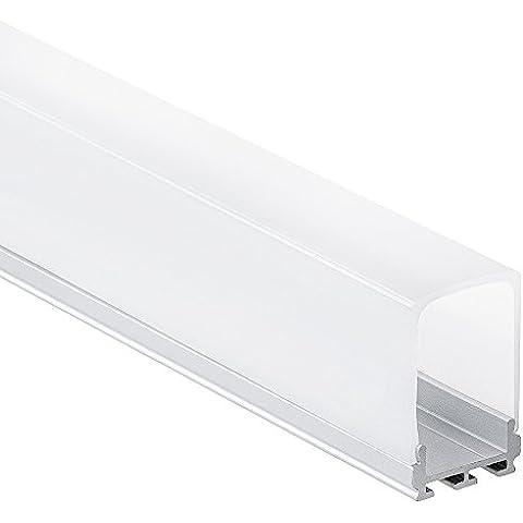 PL5 Nash C2 Profilo alluminio per Strisce LED 2m +