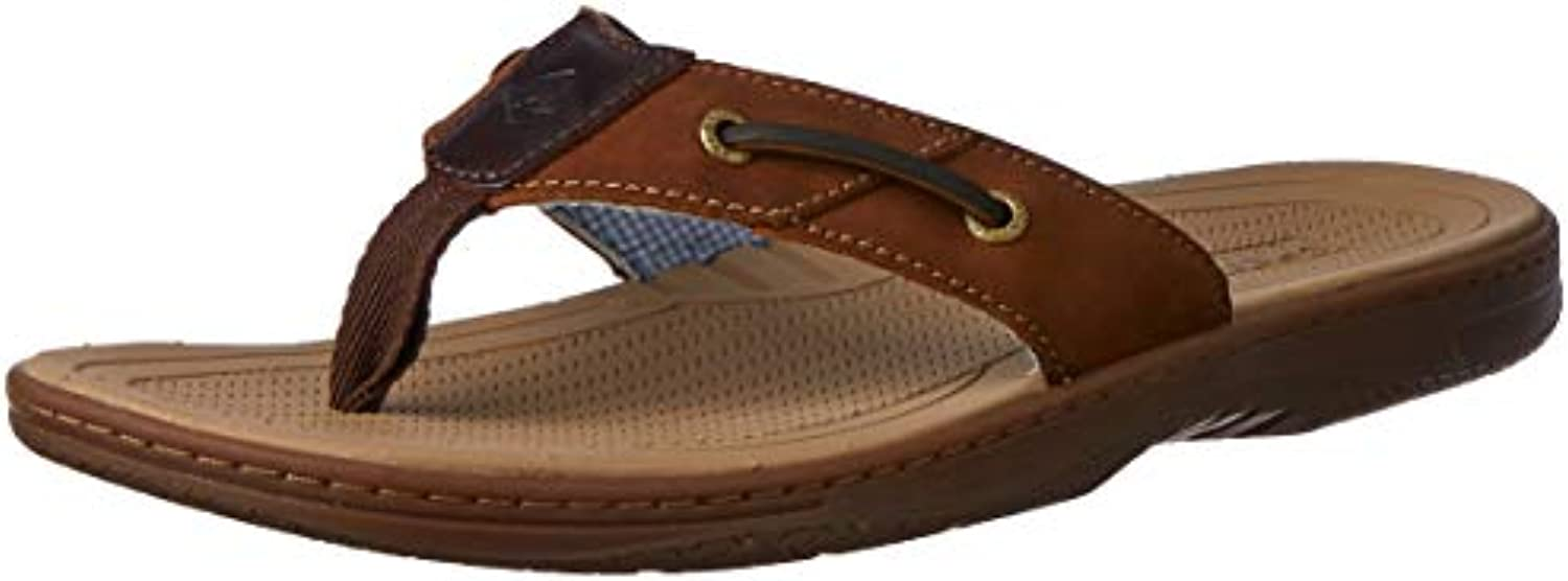 Sperry Top-Sider Men's Baitfish Thong Sandal,Marronee Buck Marronee,14 M US | A Primo Posto Tra Prodotti Simili