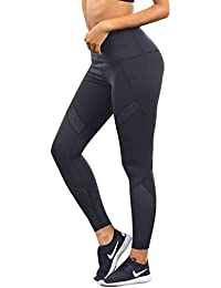 a666a1dd9c02ee SUNNYME Womens Sport Leggings Casual Yoga Pants Athletic Slim Workout Tights  for Gym Fitness