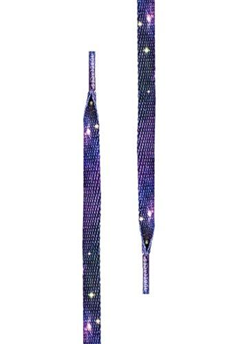 Special Flat mit diversen Motiven - Länge 1.40m (Galaxy) (Galaxy Schnürsenkel)