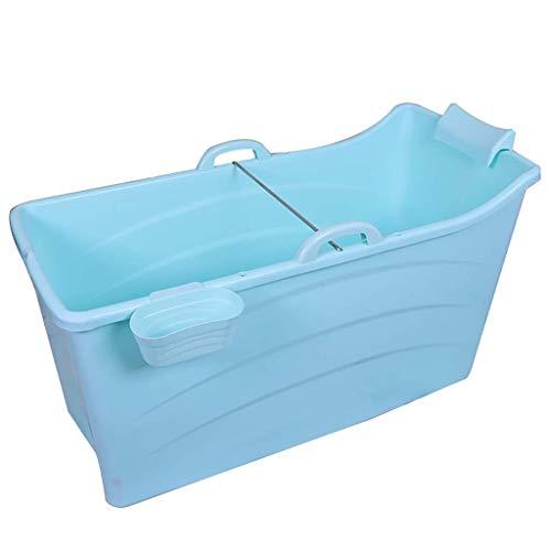 Baby Badewanne, Haushalt-bewegliche Badewanne, Erwachsene im Freien Spielraum Tub, Kinderbadehaus, Blau, 123 * 52 * 68 cm
