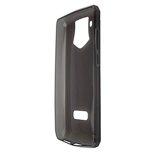 caseroxx TPU-Hülle für Oukitel K10, Tasche (TPU-Hülle in schwarz-transparent)