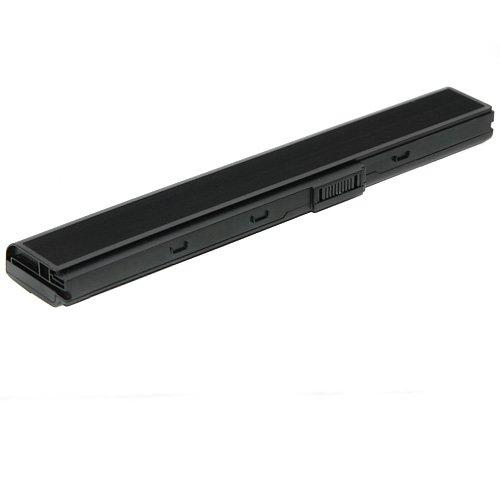 Laptop Notebook Ersatzakku für Asus X52J | A31-K52 A32-K52 A32-N82 A41-K52 A42-B53 A42-K52 A42-N82 X52J A52J K52J K53F A40D A40J A42J A42D A52D A52J 70-NXM1B2200Z, 90-NYX1B1000Y - 10.8V 4400mAh