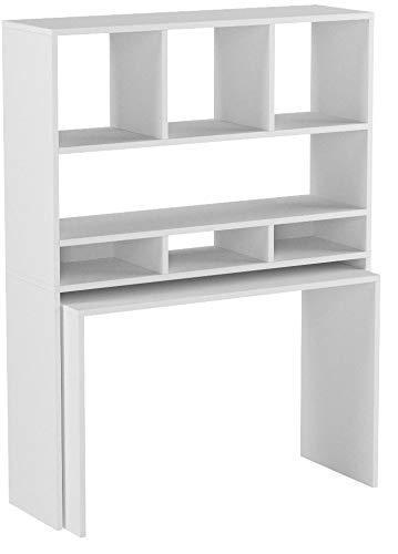 Weiß Vicco Schreibtisch Simple 76 X 82 Cm Sonoma Eiche Oder