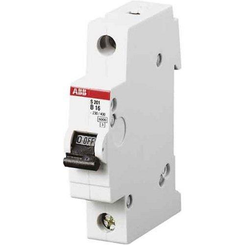 ABB Stotz-Kontakt S201-B16 - Leitungsschutzschalter Char. B 16 A 1 polig, 2CDS251001R0165