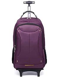 Trolley Backpack Flight Flight, Maleta Trolley con Compartimiento para Laptop, Equipaje de Mano Aprobado