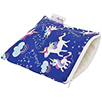 Itzy Ritzy Snack Happens Reusable Snack and Everything Bag, Unicorn Dreams