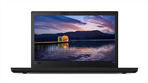 Lenovo ThinkPad T480 Intel Core i5 8th Gen 14-inch Full HD Thin and Light Laptop (8GB + 16 GB Optane RAM/ 1 TB HDD/ Windows 10 Professional/ Black/ 1.58 kg), 20L5S0ER00